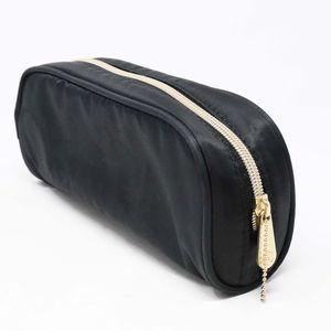 The Sak Black Nylon Cosmetic Bag